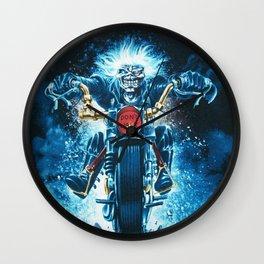 iron maiden tour 2021 dede24 Wall Clock