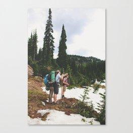 TRECK Canvas Print