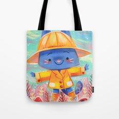 Raincoat 2 Tote Bag