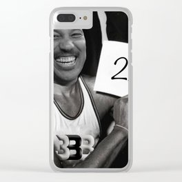 LaVar Ball avrage 2.2 Clear iPhone Case