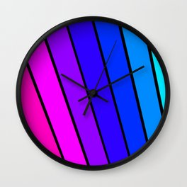 Color, Color and more  Color Wall Clock