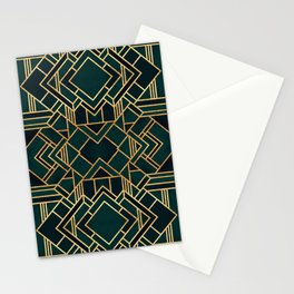 Art Deco 2 Stationery Cards