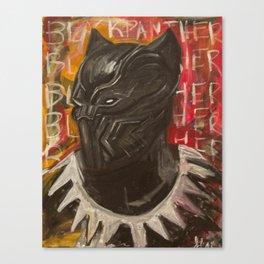 BLVCK PVNTHER Canvas Print