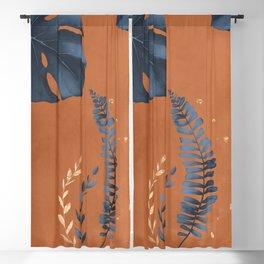 Monstera Leaf Blackout Curtain