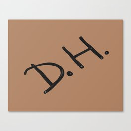 Senior Scribe DH light brown Canvas Print