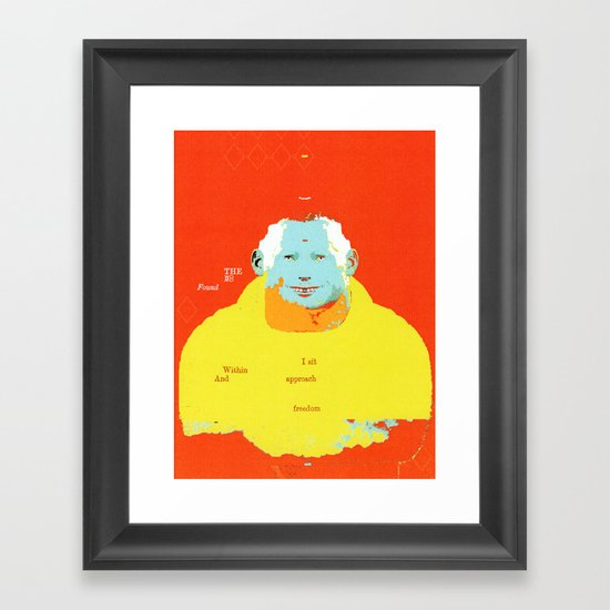 The Found Framed Art Print