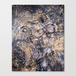 A Living Landfill Of Dead Possibilities Canvas Print