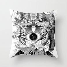 Dream Pipe Throw Pillow