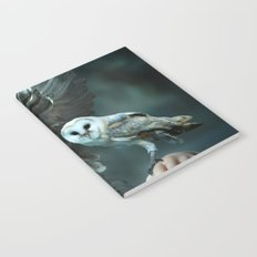 Owls Talk - dedicated to thee_owl_queen Notebook