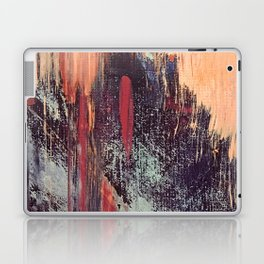 Night and Day: pretty abstract piece in orange, purple, and blues Laptop & iPad Skin