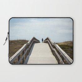 Ocracoke Pony Pen Boardwalk 2018 Laptop Sleeve