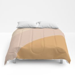 Warm Neutral Color Block Comforters