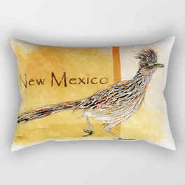 Roadrunner Of New Mexico-Barbara Chichester Rectangular Pillow