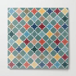Moroccan Color Splash Metal Print
