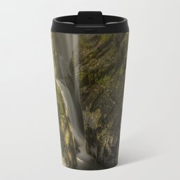 Cumbrian Waterfall. Travel Mug