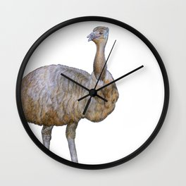 Amused Emu Wall Clock