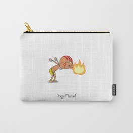 Yoga Flame! Carry-All Pouch