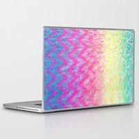 hippie Laptop & iPad Skins featuring Hippie Chevron by M Studio