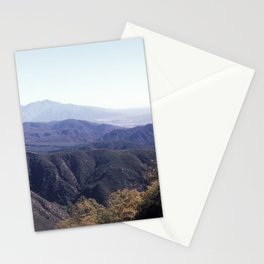 Layers of Hillsides Stationery Cards