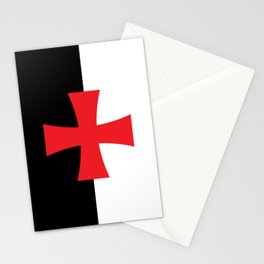 Knights Templar Flag Stationery Cards