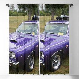 1968 MOPAR plum crazy Hemi Coronet 500 color photography / photograph / poster Blackout Curtain