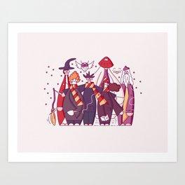 Team Cool Wizards Art Print