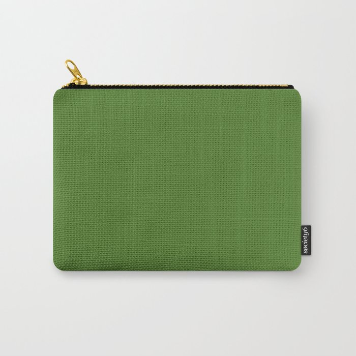 Sap green - solid color Carry-All Pouch