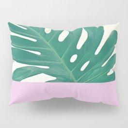 Monstera Dip Pillow Sham