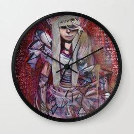 """Celebrity Worship"" by Lindsay Wiggins Wall Clock"