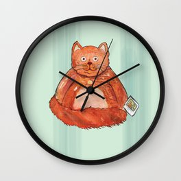 pleasantly plump Wall Clock