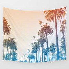 Summer in LA Wall Tapestry