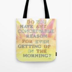 CONCEIVABLE REASON Tote Bag