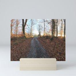 Forest in the Fall Mini Art Print