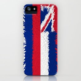 Extruded Flag of Hawaii iPhone Case