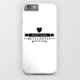 In The Intoxication Of Speed iPhone Case