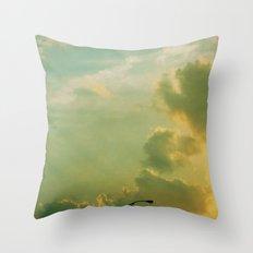 Sunday Night Lights Throw Pillow