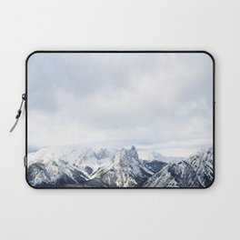 Looking out over the Rockies, in Banff Laptop Sleeve