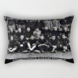 1928 National Football World Champion Providence Steam Roller Team Photo Rectangular Pillow