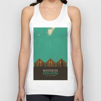 moonrise kingdom Tank Tops featuring MOONRISE KINGDOM by VAGABOND