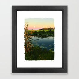 polder Framed Art Print