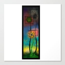 Moirai Garden Canvas Print