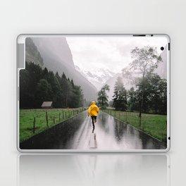 Lauterbrunnen valley Laptop & iPad Skin
