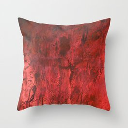 This is my blood of the covenant, which is poured out for many for the forgiveness of sins. Throw Pillow