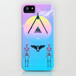 The new world order iPhone Case