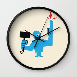 SON OF A GOD Wall Clock