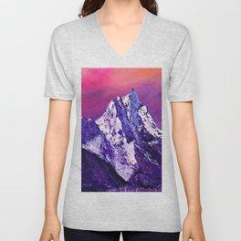 Nepal. Ama Dablam mountain Unisex V-Neck