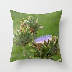 artichoke 3 Throw Pillow