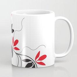 Digital Art Red Vines Coffee Mug
