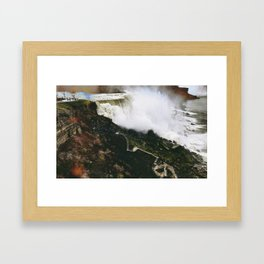 Falls of the Americas at Niagara Framed Art Print