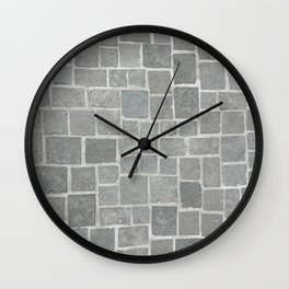 Cobblestones - Art Photography Wall Clock